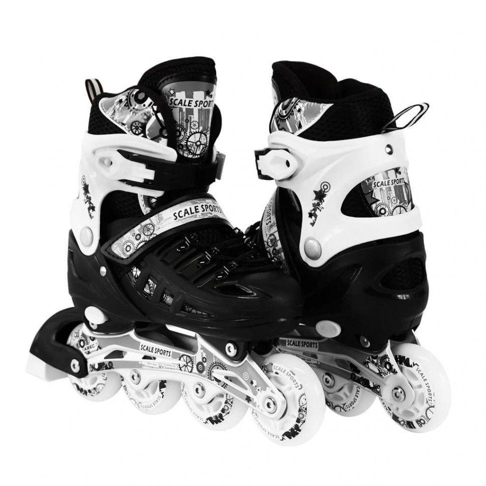 6eef4dd1347d8c Розсувні роликові ковзани Scale Sport - Чорний 35-38 р. (rls15-2