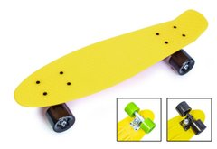 "пенни борд Zippy Board penny 22"" - Желтый 54 см  (z917)"