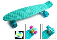 "Zippy Board penny 22"" Mentol - Ментол 54 см пенні борд LED колеса (Z31)"