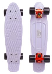 "Fish Skateboard 22.5"" White - Білий 57см пенни борд (FC1)"