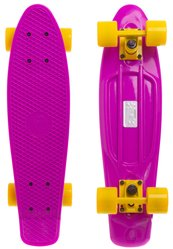 "Fish Skateboards 22.5"" Purple - Фіолетовий 57 см пенни борд (FC3)"