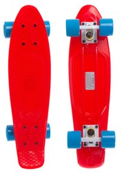 "Fish Skateboards 22.5"" Red - Червоний 57 см пенни борд (FC4)"