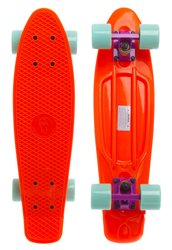 "Fish Skateboards 22.5"" Orange - Помаранчевий 57 см пенни борд (FC6)"
