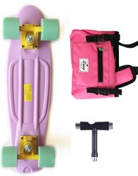 "Комплект Zippy Skateboards 22"" Pastel - Ліловий"