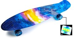 "Пенни Zippy Board Nickel Print 27"" - Галактика  LED 68 см (znp120-2)"