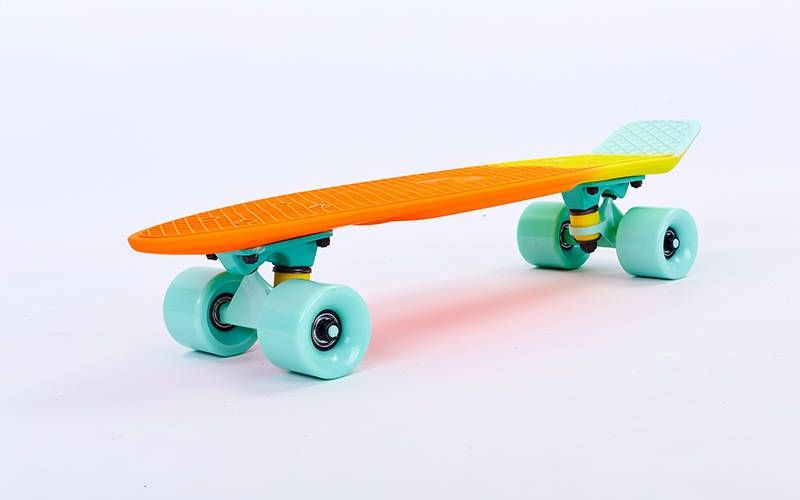 "Fish Skateboards Neptune  22"" - Нептун 57 см Soft-Touch пенни борд (FSTM1)"
