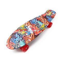 "Пенни Zippy Board Nickel Print 27"" - Граффити 68 см никель (znp112)"