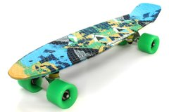 "Пенни борд Fish Skateboards Print 22.5"" - Фигуры 57 см (FP712)"