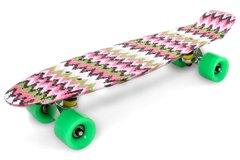 "Пенни борд Fish Skateboards Print 22.5"" - Zig Zag 57 см (FP713)"