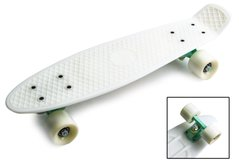 "пенни борд Zippy Board penny 22"" - Белый 54 см  (z911)"