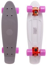 "Fish Skateboards Grey-White 22.5"" - Серо / Белый 57 см Twin (FSTT13)"